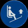 Veiligheidsbord M036 - Til skipunten op