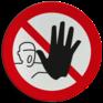 Veiligheidsbord P000 - Verboden toegang voor onbevoegden