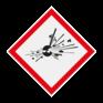 Veiligheidsbord GHS01 - Explosiegevaar