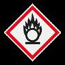 Veiligheidsbord GHS03 - Gevaar oxiderende stoffen