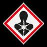 Veiligheidsbord GHS09 - Lange termijn gezondheidsgevaarlijke stoffen