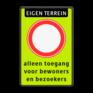 Verkeersbord C01f - Gesloten voor alle verkeer