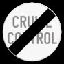 Verkeersbord C49 - Einde van het verbod opgelegd door het verkeersbord C48.