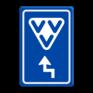 Verkeersbord BW101 -