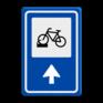 Verkeersbord BW210 -