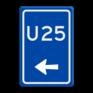 Verkeersbord BW501l -