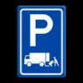 Verkeersbord E07 - Parkeergelegenheid Laden en lossen