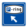 Verkeersbord BW205 - Parkeerringverwijzing