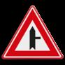 Verkeersbord B05 - Voorrangskruispunt weg van rechts