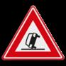 Verkeersbord J34 - Vooraanduiding ongeval