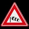 Verkeersbord J31 - Vooraanduiding zijwind