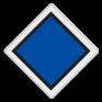 spoorwegbord VS RS 304a - Treinlengtebord