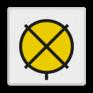 spoorwegbord VS RS 317 - Bord 'Rijden op zicht'