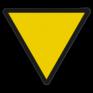 spoorwegbord SH RS 226a - Snelheidsverminderingsbord voor overweg