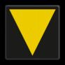 spoorwegbord RS 215b/223 - Bord t.b.v. middenvoetbrugsein