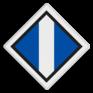 spoorwegbord SA RS 310a - Bord 'Stroomafnemers op'