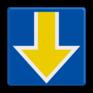 spoorwegbord RS 227b - Bord Stopplaatsmarkering onder