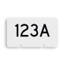 spoorwegbord RS WB - Wisselnummerbord
