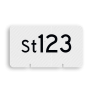 spoorwegbord RS WS - Wisselnummerbord Stopontspoorblok