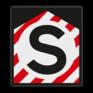 spoorwegbord ST RS 300 - Stopbord