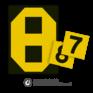 spoorwegbord SH RS 325b - Tijdelijk snelheidsbord