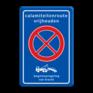 Verkeersbord BT32 -