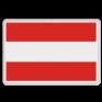 Scheepvaartbord A. 1 - Invaart, uitvaart of doorvaart verboden