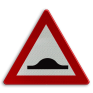 Verkeersbord A14 - Verhoogde inrichting(en)