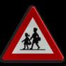 Verkeersbord A23 - Plaats waar speciaal veel kinderen komen