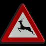 Verkeersbord A27 - Doortocht van groot wild