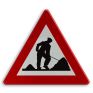 Verkeersbord A31 - Werken