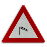 Verkeersbord A37 - Zijwind