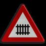 Verkeersbord A41 - Overweg met slagbomen