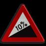 Verkeersbord A05 - Steile helling (min. 7%)
