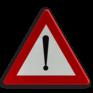 Verkeersbord A51 - Gevaar dat niet door een speciaal symbool wordt bepaald