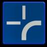 Verkeersbord B00 - Onderbord om de curve van de weg aan te geven