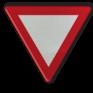 Verkeersbord B01 - Voorrang verlenen