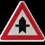 Verkeersbord B15a - Voorrang links en rechts
