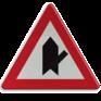 Verkeersbord B15e - Voorrang op aangegeven kruisende weg