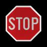 Verkeersbord B05 - Stoppen en voorrang verlenen