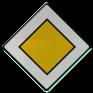 Verkeersbord B09 - Voorrangsweg