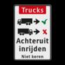 Verkeersbord BT16a-NL -