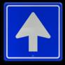 Verkeersbord C03 - Eenrichtingsweg
