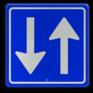 Verkeersbord C05 - Inrijden toegestaan