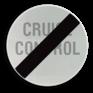 Verkeersbord C49 - Einde verbod opgelegd door het verkeersbord C48