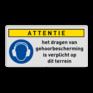 Veiligheidsbord M003 -
