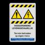 Veiligheidsbord W001 / W012 -