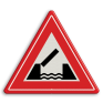 Verkeersbord J15 - Vooraanduiding beweegbare brug