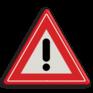 Verkeersbord J37 - Vooraanduiding gevaar