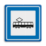 Verkeersbord L03c - Tramhalte/bushalte